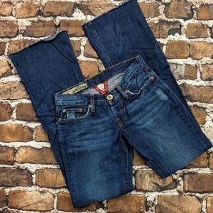 Lucky Brand Raw Hem Bootcut Billie Dream Jeans